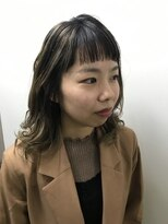 コレット ヘアー 大通(Colette hair)ハイライトカラー