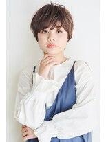 ヘアサロン ガリカ 表参道(hair salon Gallica)【東 純平】大人かわいい ラフ 小顔ショートボブ
