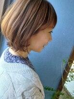 《Kubu hair》丸みくびれボブ