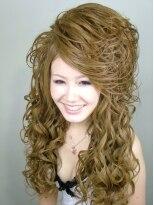 盛り髪(盛りヘア)のI LOVE スジ★画像