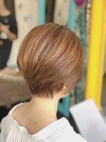 カイナル 関内店(hair design kainalu by kahuna)ドライヴカット×ハイライト