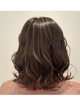 ソイル ヘアー(soil hair)ハイライト×インナー
