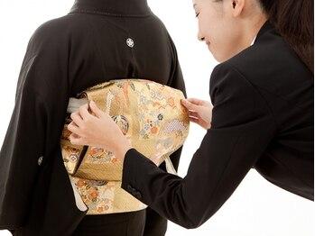 ラ フェリーテ 新横浜 ヘア(Ra felite)の写真/【留袖・訪問着・振袖】着付けはベテラン着付専門Staffの丁寧・早い仕上がりで幅広いスタイルが可能です☆