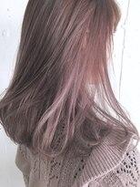 【CHELSEA】ハイインナーカラー×ピンクピンク
