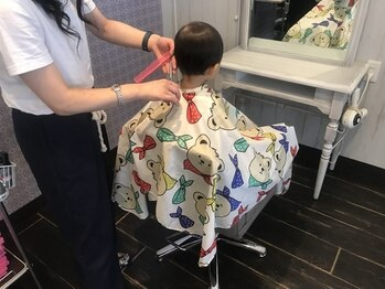 リルークヘアー(Riruuku.hair)の写真/【阪急塚口駅徒歩3分】忙しくても綺麗でいたい☆≪Riruuku.hair≫でいつでもカワイイ愛されママに♪