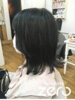 ヘアーメイクゼロ 坂戸駅前店(hairmake zero)ゼフィラムカラー ブルーブラック