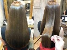 髪質改善【縮毛矯正/トリートメント】輝くうる艶美髪へ大変身☆