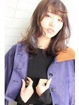 ジル ヘアデザイン ナンバ(JILL Hair Design NAMBA)【お洒落色っぽい】ミディアムウルフレイヤー