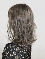 ソース ヘア アトリエ 京橋(Source hair atelier)グレージュ