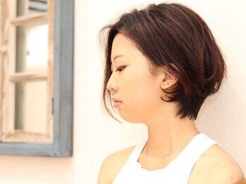 リベルタ(Re:berta)の写真/≪乾かすだけでキマル髪≫どの角度でも美しいシルエット!魅力を引き出すショートスタイル【Re:berta】