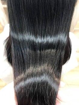 ナトゥーラ 一宮(NATURA)の写真/【一宮】髪質で組み合わせるオートクチュールトリートメントとして人気のAujuaで思わず触れたくなる美髪へ