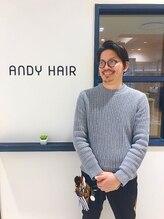 アンディヘア アオキジマ(ANDY HAIR aokijima)勝又 輝
