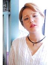 リーズ(Lise)【ミルクティーベージュボブ】/【イルミナカラー】【ブリーチ】