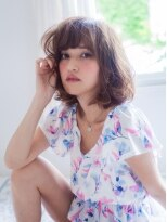 美容室パイナップル犬塚店リラックスウェービースタイル