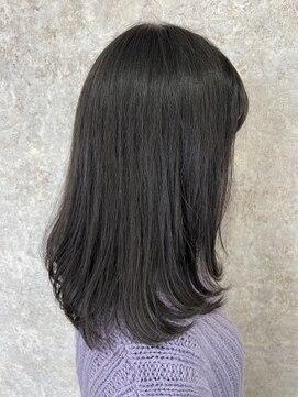 シュガービー(SUGAR-B)【SUGAR-B 】はねないスタイル 黒髪肩下ミディアム