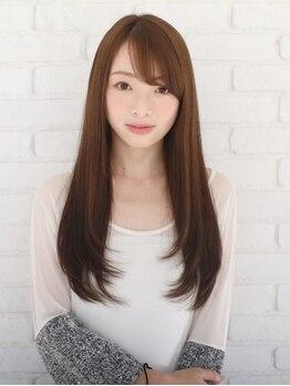 ヘアーデザイン キャスカ(Hair design Caska)の写真/あなたの求める[髪質改善]縮毛矯正☆まるで生まれたてのような、美髪ストレートを体感!!