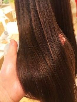 パルティール(Partir)の写真/【微弱電荷トリートメント】医師と提携サロン。ダメージ具合に合う栄養を分析。今までにない髪質改善を!