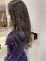ラノバイヘアー(Lano by HAIR)【lano by hair 銀座】 セミウェットウェーブオリーブカラー