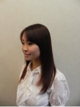 アネモネ ハッピー ヘアー ライフ(ANEMONE Happy hair Life)アプリコットオレンジストレート