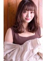 くびれセミディ×無造作カール【Palio by collet】03-5367-3624
