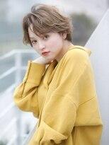 オーブ ヘアー アムール 学芸大学店(AUBE HAIR amour)【AUBE HAIR】大人可愛い耳かけショート