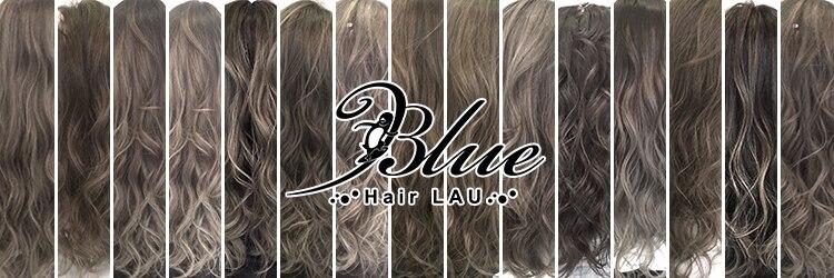 ブルー(Blue)のサロンヘッダー