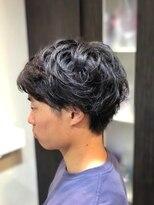 オムヘアーツー (HOMME HAIR 2)クセ毛を活かすツーブロックマッシュ#Hommehair2nd櫻井