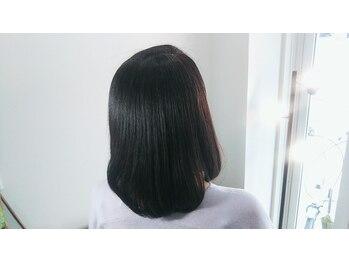ラページュ(Raperjou)の写真/パサついたヘア改善!潤いに満ちた、きらめく髪質を創る◎アクアバランストリートメント☆さらさらヘアに♪