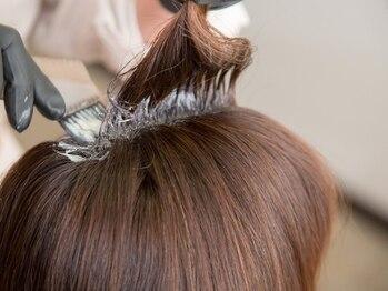エヌフラクタル(Nfractal)の写真/頭皮や肌が弱い方にもオススメ◎上質で髪に優しい成分にこだわったオーガニック薬剤をご用意!!