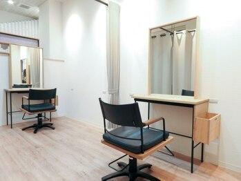 イナクト ヘアー(ENACT.hair)の写真/マンツーマン施術で有意義な時間を過ごせる。くつろげる居心地の良い空間でハイレベルな施術をご提供!