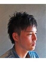ヘアー グランジ プラス(hair Glunge Plus)ワイルドショートスタイル