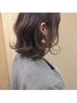 ヘアー コパイン(HAIR COPAIN)[熊本/中央区/上通り/並木坂] ピンクな外ハネ