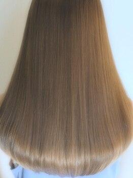 ルカ ヘアデザイン(Luca hair design)の写真/ダメージヘアの救世主☆毛髪強度回復率140%のTOKIOトリートメントで、誰もが憧れの潤ツヤ美髪へ髪質改善♪