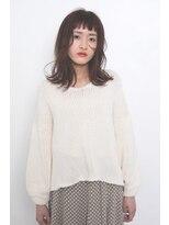 マウロア(MAULOA)【MAULOA】小顔 姫カット 外ハネワンカール