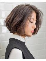 ムード 金沢文庫 hairdesign&clinic mu;d奥行きショートボブ