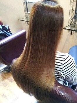 エルドール(ailed'ore)の写真/【髪質改善】なら《ailed'ore》にお任せ☆クセ毛やダメージなど、髪質で悩む女性のためのサロンです◎