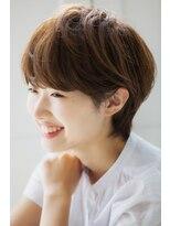 リル ヘアーデザイン(Rire hair design)【Rire-リル銀座-】耳かけ♪ナチュラルショートボブ☆