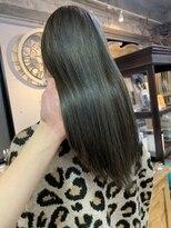 ピア(Pia)pia2021 髪質改善 縮毛矯正 オリーブグレージュ