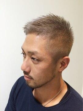 薄毛・ハゲにおすすめの髪型②アシンメトリー