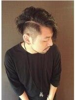 外国人風メンズヘア