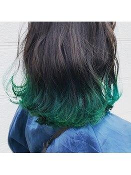 ヘアメイク プラスワン(HairMake Plus ONE)の写真/トレンドの綺麗な艶と透明感のある外国人風カラーが人気◎髪を傷めず、艶・潤いUP☆で最旬スタイル!