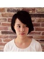 ヘアメイク オブジェ(hair make objet)ナチュラルショートボブ