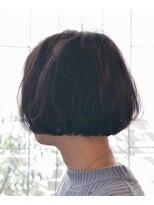 エヌ プラス(N+)【N+】くせ毛ボブ×イノセント[クールショート/藤沢/大人女性]