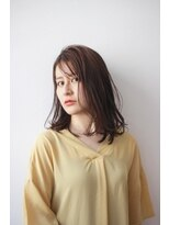 シアン ヘア デザイン(cyan hair design)【cyan】リラックスロングボブ