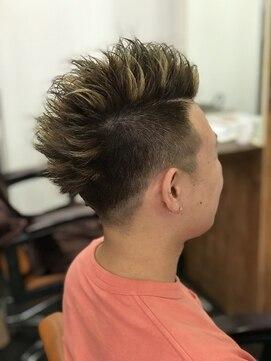 ヘアーアンドメイク アネラガーデン(HAIR&MAKE Anela garden)男のハイライト