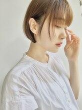 ソラ 広尾店(SORA)【No.1|人気ショートボブstyle3選】透明感カラー×マッシュボブ