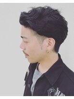 ヘアデザイン ダブル(hair design Double)黒髪メンズパーマ