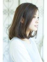 サラヘアー(sarah hair)【sarah 銀座】柔らか毛先のマシュマロミディアムサイド