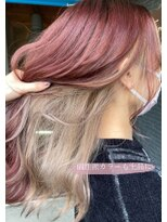 ヘアアンドビューティー クローバー(Hair&Beauty Clover)bordeaux × white beige