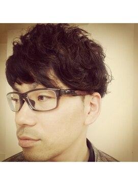 アオタニ ヘア 東向日店(aotani hair)クシュクシュパーマ